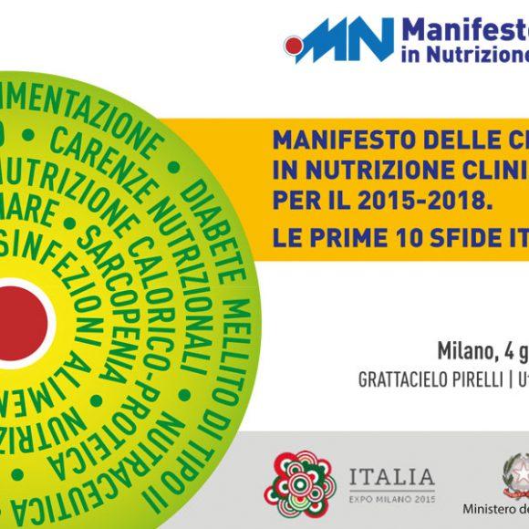 Manifesto delle Criticità in Nutrizione Clinica e Preventiva. Le Prime 10 Sfide Italiane