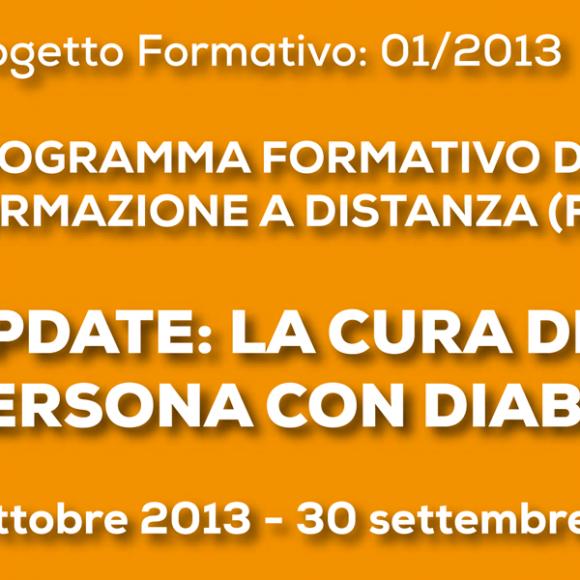 Update: La cura della persona con diabete (Corso FAD)