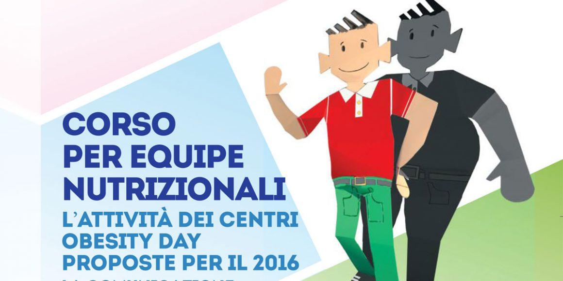 II Edizione Corso per  Equipe Nutrizionali Come efficientare un Centro Obesity Day