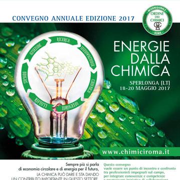 Convegno annuale ordine dei Chimici L.U.A.M.: Energie dalla Chimica