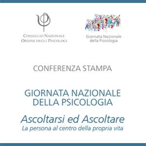 Conferenza Stampa Giornata Nazionale della Psicologia 2018