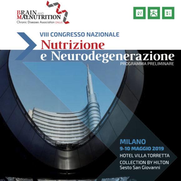 VIII CONGRESSO NAZIONALE B&M – Nutrizione e Neurodegenerazione