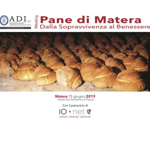 Meeting PANE DI MATERA – Dalla Sopravvivenza al Benessere