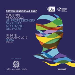 1989-2019 PSICOLOGO: UN PROFESSIONISTA MODERNO AL SERVIZIO DEL PAESE