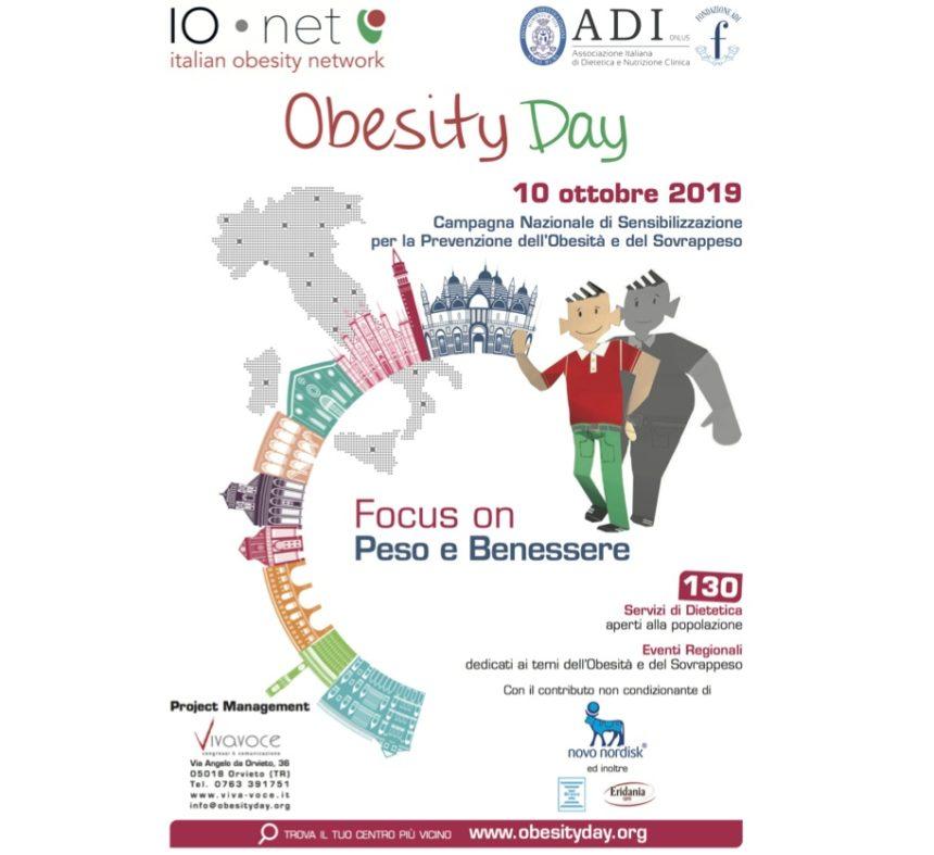 Obesity day 2019: Peso e Benessere