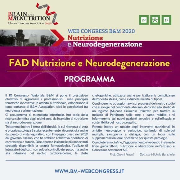 Corso FAD Nutrizione e Neurodegenerazione