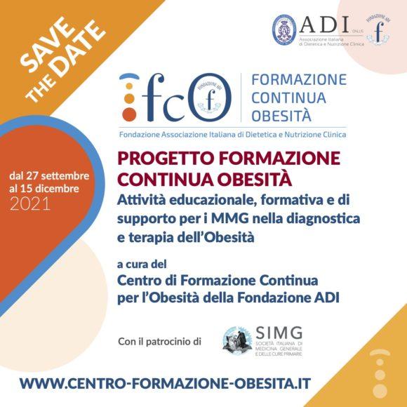 Fondazione Associazione Italiana di Dietetica e Nutrizione Clinica – PROGETTO FORMAZIONE CONTINUA OBESITÀ